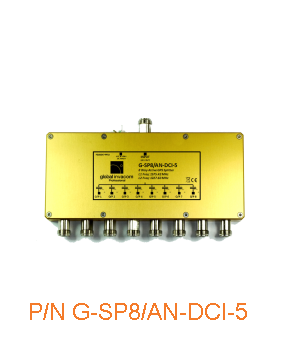 GPS 8 Way Active Splitter